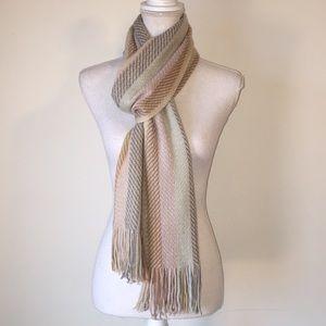 Cejon pastel long scarf